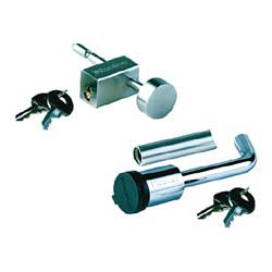 Lock and Adjustable Coupler Latch Lock Package