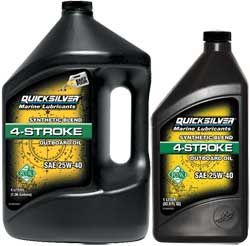 Synthetic Blend 4-Stroke Outboard Oil