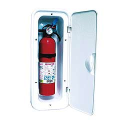 Sail Systems Covered Fire Extinguisher Box