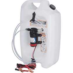 Flat Tank Oil Changer System, 3-1/2 Gallons