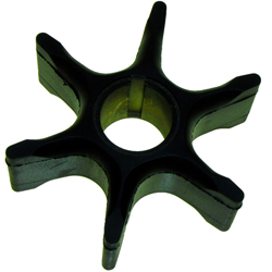 "Impeller - Dia. 3 1/2"",Dpth. 1 1/4"" - 6 Fins - Neoprene - Key for Suzuki Outboard Motors"