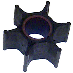 "Impeller - Dia. 2 1/4"",Dpth. 1 1/8"" - 6 Fins - Neoprene - Key for Chrysler Force Outboard Motors"