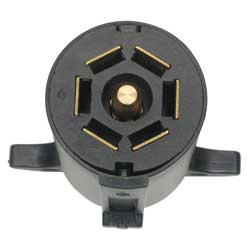 trailer light connector 7 pin heavy duty trailer plug. Black Bedroom Furniture Sets. Home Design Ideas