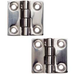 Heavy-Duty Stainless-Steel Butt Hinges