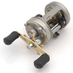 Cardiff 400A Baitcasting Reel, 50/305,65/180,80/160 Yards/Test, 5.2:1 Gear Ratio, 4BB, 11lb. Max Drag, 11.9 oz