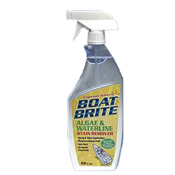 Cap'n John's Boat Brite Algae and Waterline Stain Remover, 32oz.