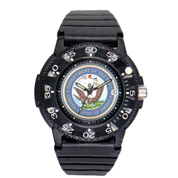 U.S. Navy Waterproof Watch with Dive Band