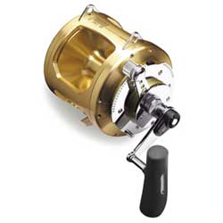 "Tiagra TI-80WA Conventional Reel , 950/80 Yds/Test,  2.5:1/1.3:1 Gear Ratio, 37""/19"" Line Speed, 115.2oz., 4BB"