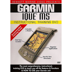 Garmin iQue M5 Instructional Training DVD