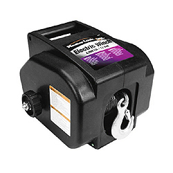12V DC 2,000lb Trailer Winch