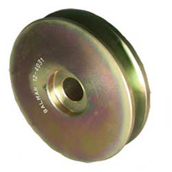 "3"" Diameter, 5/8"" Belt Width, Single Groove 9-Series Alternator Pulley"