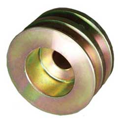 "2.7"" Diameter, 5/8"" Belt Width, Dual Groove 9-Series Alternator Pulley"