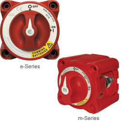300A e- & m-Series Dual Circuit Plus™ Battery Switches