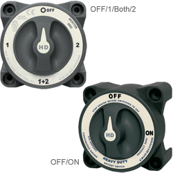 Heavy-Duty Series Battery Switches