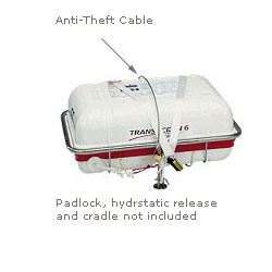 Anti-Theft Cable for Offshore Plus Life Raft