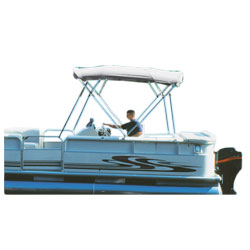 "Hot Shot Bimini Pontoon BoaTops® 96"" x 96"""