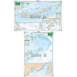 U.S. Virgin Islands Chart - Large Print