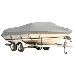 "Aluminum Bass Boat Cover, Gray, WeatherPro Plus, 14'0""-16'0"", 75"" Beam"