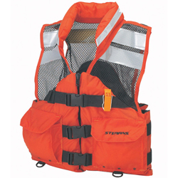 Stearns Search-and-Rescue (SAR) Flotation Vest, Medium, 40--42