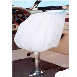 Helm Bucket Fixed Back Chair Cover