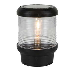 All Round Anchor Navigation Light, White with Black Housing, 24V