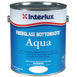 Interlux Fiberglass Bottomkote Aqua - Green, Gallon Sale $187.99 SKU: 12426078 ID# YBA559/1 UPC# 81948000475 :