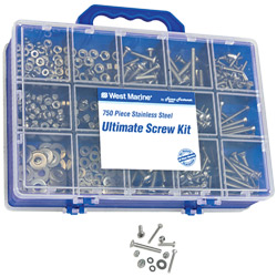 750-Pc. Ultimate Stainless Steel Fastener Kit
