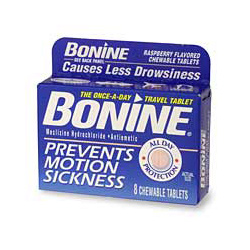 Bonine Motion Sickness Pills, Value Size