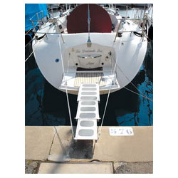 Stabilizing Cables for Telescopic Boarding Gangway