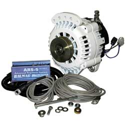 Yanmar 4 Series Engine 100 Amp/12 Volt Alternator/Regulator Package