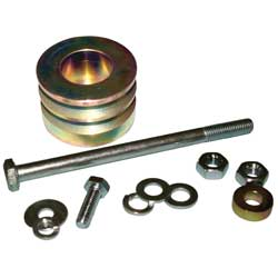 Yanmar LP Hardware Kit (Mounting Hardware and Pulley)