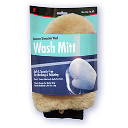 Wash Mitt-Synthetic Wool
