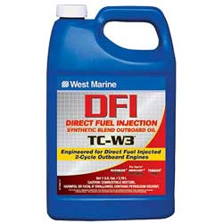 DFI Direct Fuel Injection Synthetic Blend TC-W3 Outboard Oil