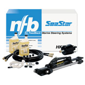 Seastar Solutions SeaStar 1.7 Front-Mount Outboard Hydraulic Steering Kit with 24' Hoses Sale $1269.00 SKU: 550905 ID# HK6324A UPC# 731957827692 :
