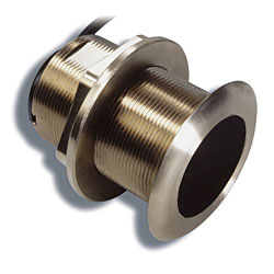B60 Bronze Thru-Hull 20° Tilted Element Transducer