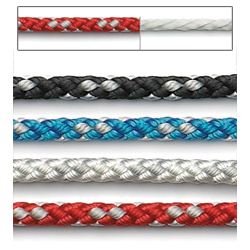 Pre-Stretched 8-Plaited Polyester Dinghy Line