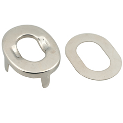 Canvas Fasteners - Twist Eyelet with Four-Prong Base and Washer, 25 Sets