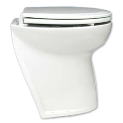 Deluxe Flush Electric Head, Fresh-Water Rinse