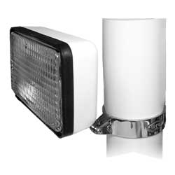 "Deluxe Floodlight for 3"" Pole"