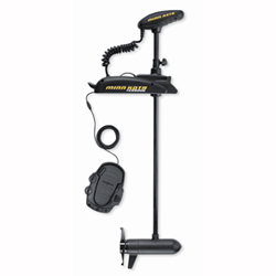 "Terrova 80/US2 Freshwater Bow Mount Trolling Motor, 80lb. Thrust, 60"" Shaft, 24V"