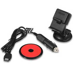 Vehicle Suction Cup Mount with Vehicle Power Cable