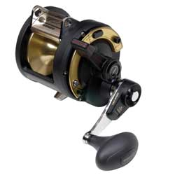 "TLD20IIA 2-Speed Reel, 450/30 Yds/Test,  4:1/1.7:1 Gear Ratio, 37""/16"" Line Speed, 36.2oz."