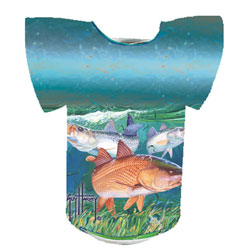 Guy Harvey Redish Chums Koozie