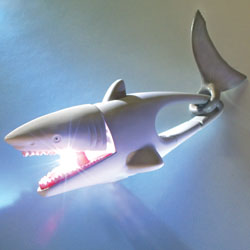Shark LifeLight LED Key Chain Light