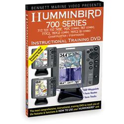Bennett Marine Humminbird 700 Series (717, 727, 737, 747C, 757C Combo, 767 Combo, 777C2, 787C2 Combo, 797C2 SI Combo) GPS Instructional Training DVD Sale $9.66 SKU: 9116617 ID# N8081DVD UPC# 97278080810 :