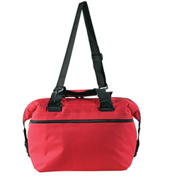 24 Pack Soft Sided Boat Cooler, Red
