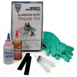 West System G/Flex 650-K Aluminum Boat Repair Kit