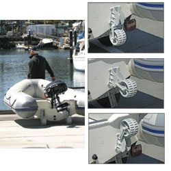 Retractable Wheel Boat Dolly