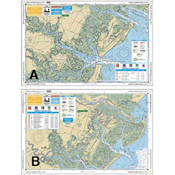 Waterproof Charts Central Long Island Sound Coastal Fishing Chart Sale $26.99 SKU: 11610276 ID# 26F UPC# 740399002666 :