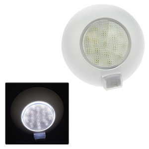 16-LED White Task Light, OFF/ON Switch Positions